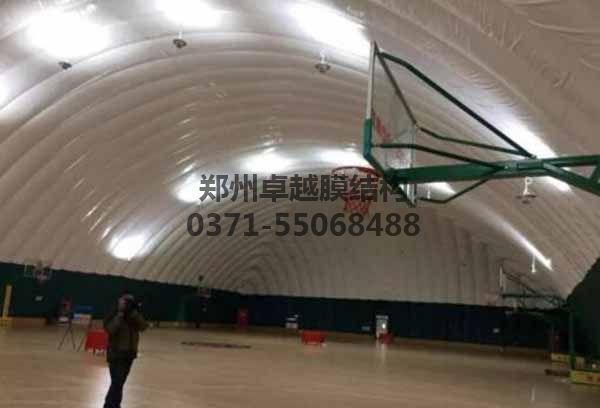 气膜羽篮球馆