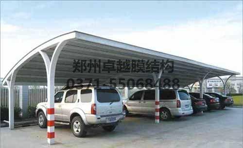 彩钢瓦车棚价格低使用年限较短