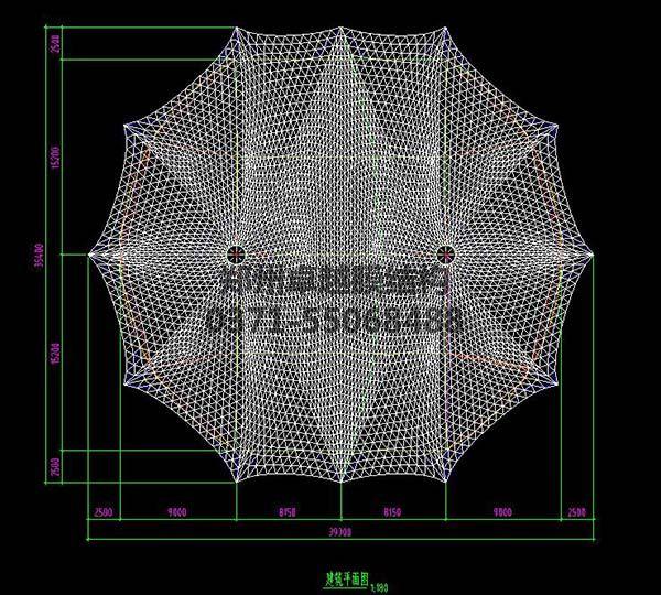 新郑中兴广场摩臣5娱乐设计建筑平面图