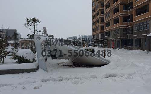 被大雪压塌的7字型摩臣5娱乐