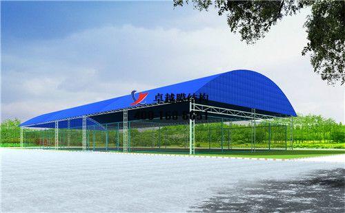 怀化摩臣5门球场网球场篮球场(铁北体育中心-网球场)设计施工安装案例