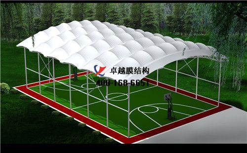 白银摩臣5门球场网球场篮球场(铜城国家级体育俱乐部)设计施工安装案例