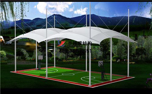 金昌摩臣5门球场网球场篮球场(金昌市体育中心)设计施工安装案例