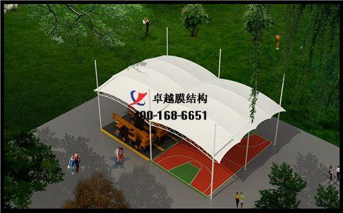 嘉峪关摩臣5门球场网球场篮球场(炫飞篮球训练营)设计施工安装案例
