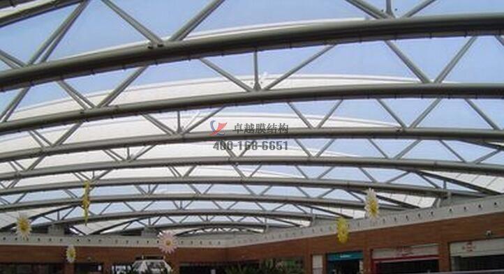 银川商场摩臣5娱乐屋顶工程案例