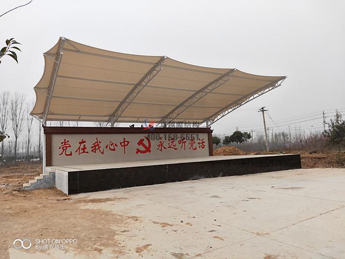 焦作市武陟县圪垱店乡岗头村文化广场摩臣5舞台